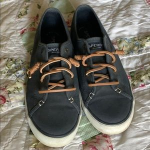 Sperry Top Sider blue canvas